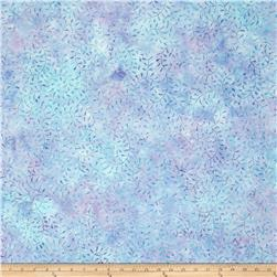 Batavian Batik Curling Leaves Blue/Purple