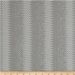 Stretch Stella Knit Chevron Grey