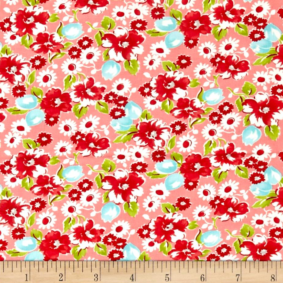 Moda Little Ruby Little Swoon Coral