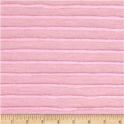 Twisted Stripe Knit Baby Pink