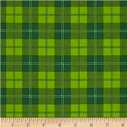 A Christmas Story Plaid Green
