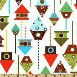 Urban Zoologie Bird House Bermuda Fabric