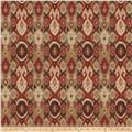 Fabricut Nuru Basketweave Bordeaux