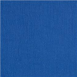 Bubble Gauze Royal Blue