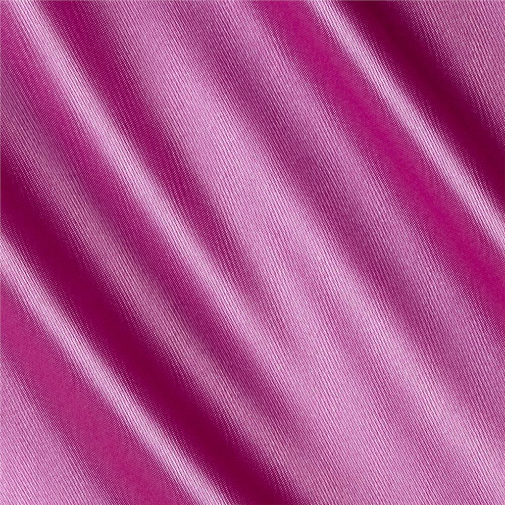 Silky Satin Charmeuse Solid Lavender Lush Fabric By The Yard