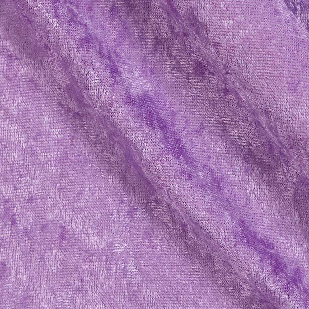 Stretch Panne Velvet Velour Lilac