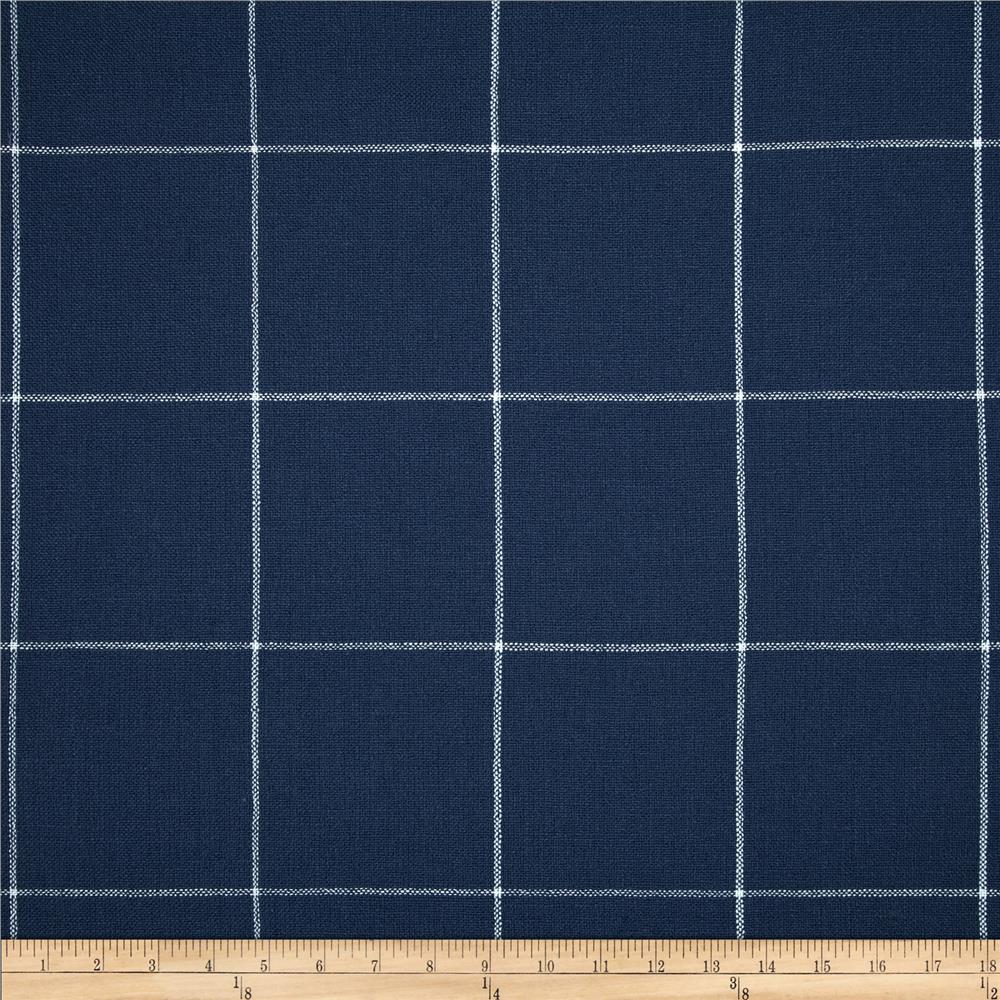 Golding Captiva Woven Large Check Bluebell