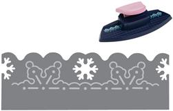 Fiskars Embossing Border Punch Winter Greeting