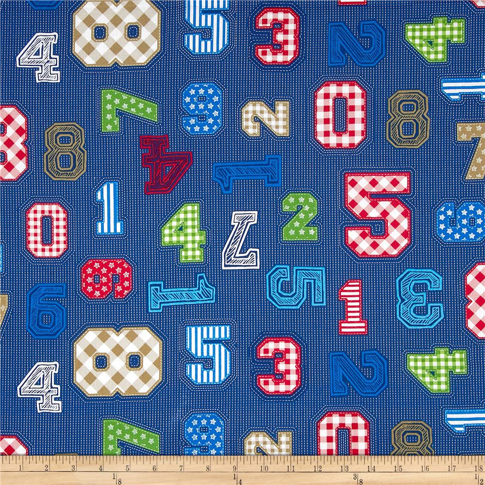 Simply Sweet Numbers Navy