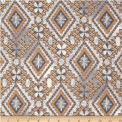 Viva Hatchi Sweater Knit Aztec Tan/Grey