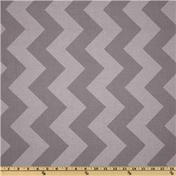 Riley Blake Chevron Large Tonal Grey