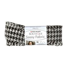 Red Heart Yarn Boutique Sassy Fabric Houndstooth