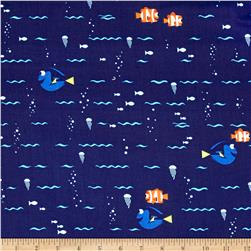 Disney Finding Dory Swimming Navy