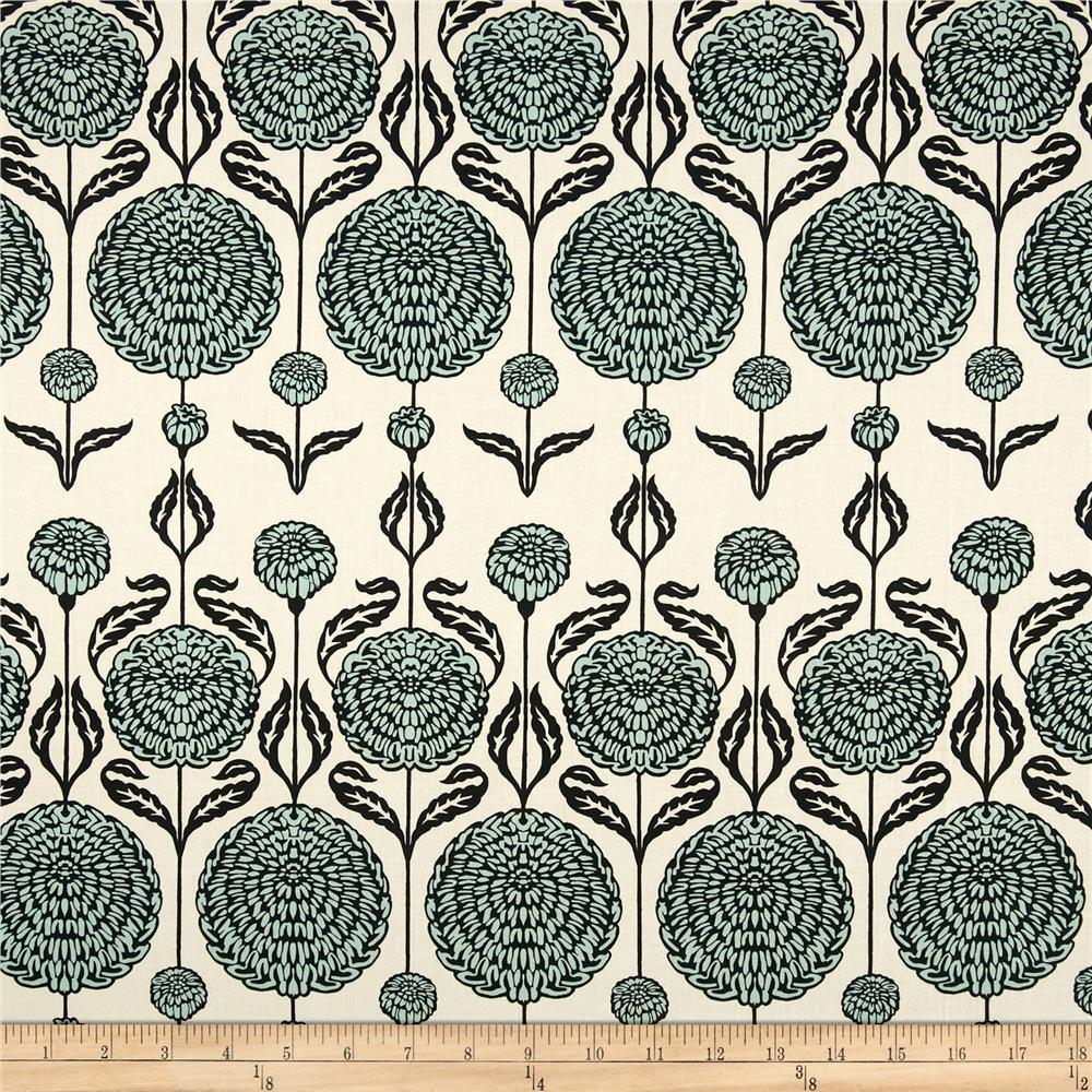 Joel Dewberry Birch Farm Home Decor Sateen Chrysanthemum