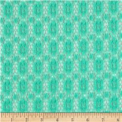Avelon Stretch Lace Dark Seafoam Fabric