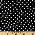Confetti Dot Black