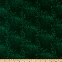"108"" Wide Quilt Back Tonal Vineyard Hunter Green"