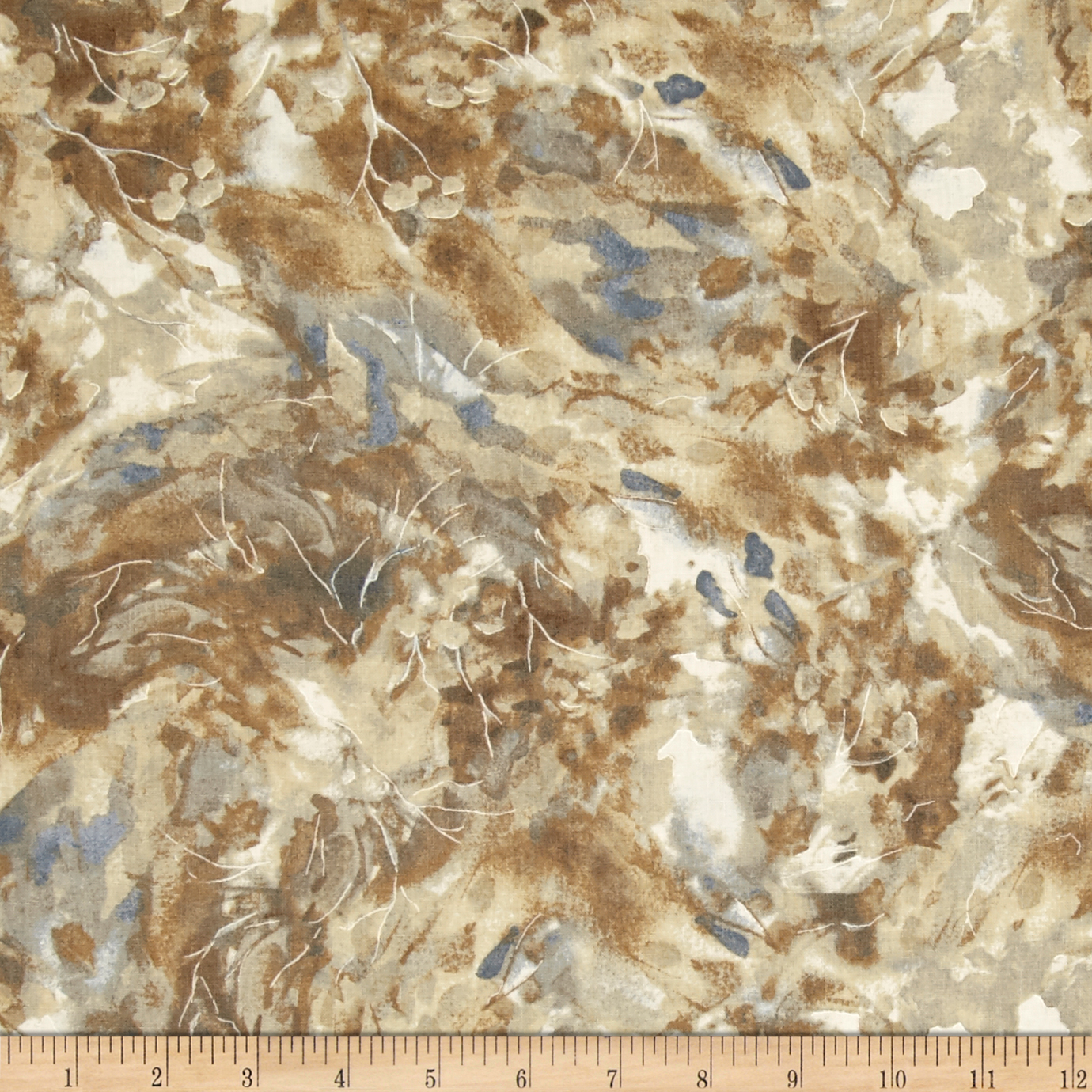 Kaufman North American Wildlife Mottle Nature Fabric by Kaufman in USA