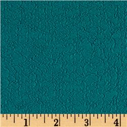 Crinkle Rib Double Knit Teal