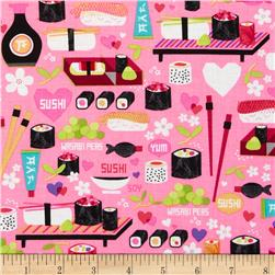 Kanvas Little Harajuku Little Sushi Pink
