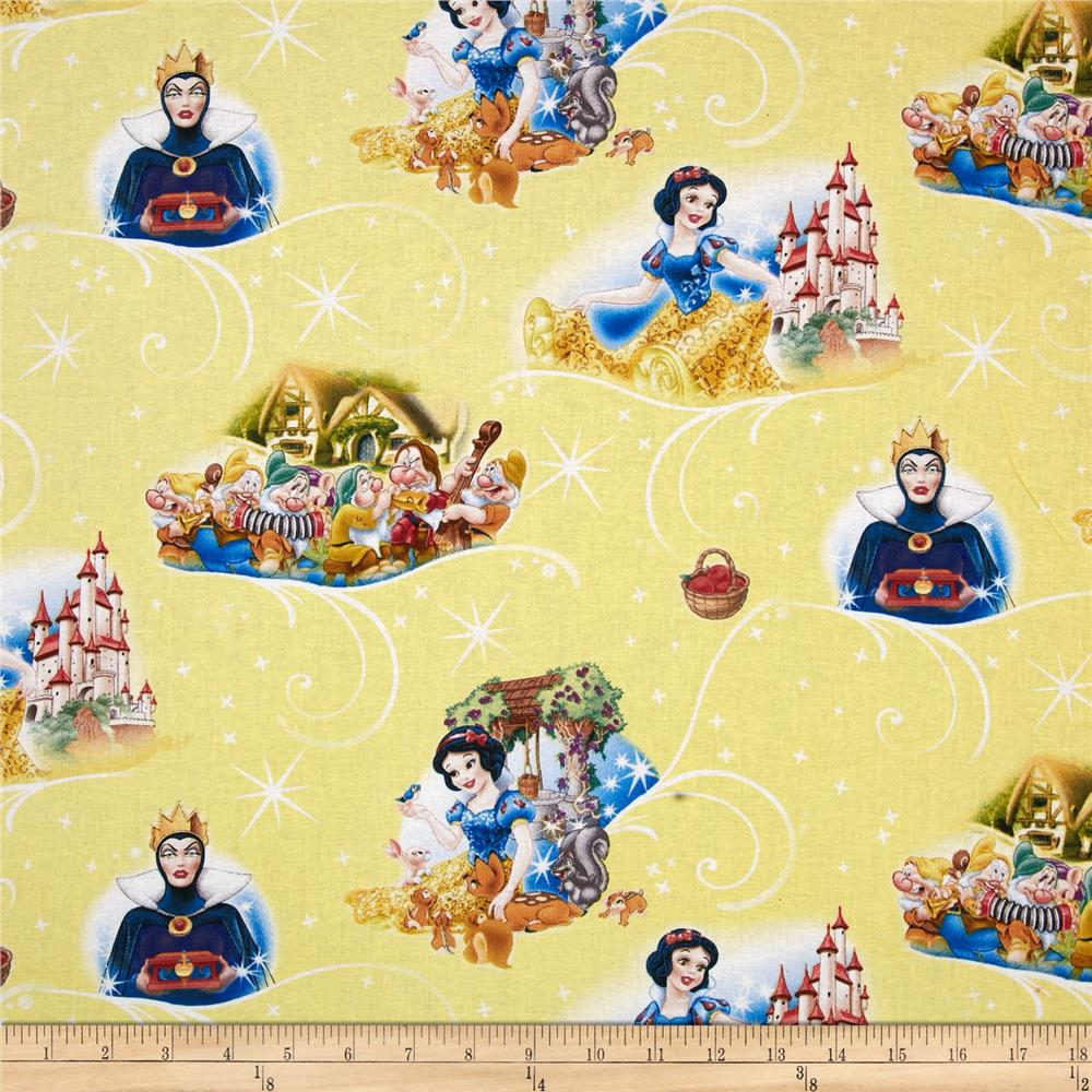 Disney Snow White with 7 Dwarves Yellow