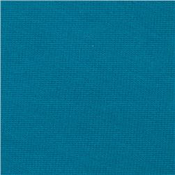Tissue French Terry Knit Solid Teal