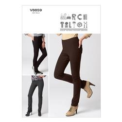 Vogue Misses' Pants Pattern V8859 Size B50