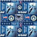 Military Fleece U.S. Air Force Blocks Multi