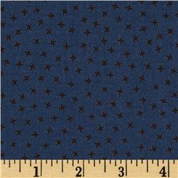 Penny Rose Civil War Times Stars Blue