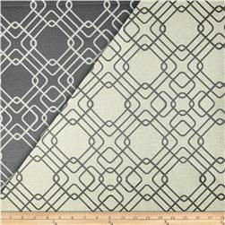 World Wide Rigel Metallic Geo Satin Jacquard Gunmetal