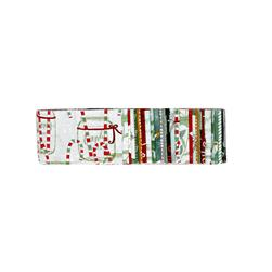 "Wilmington Frosted Holiday Crystals 2.5"" Strips"