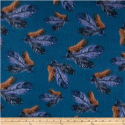 Fleece Feather Blue