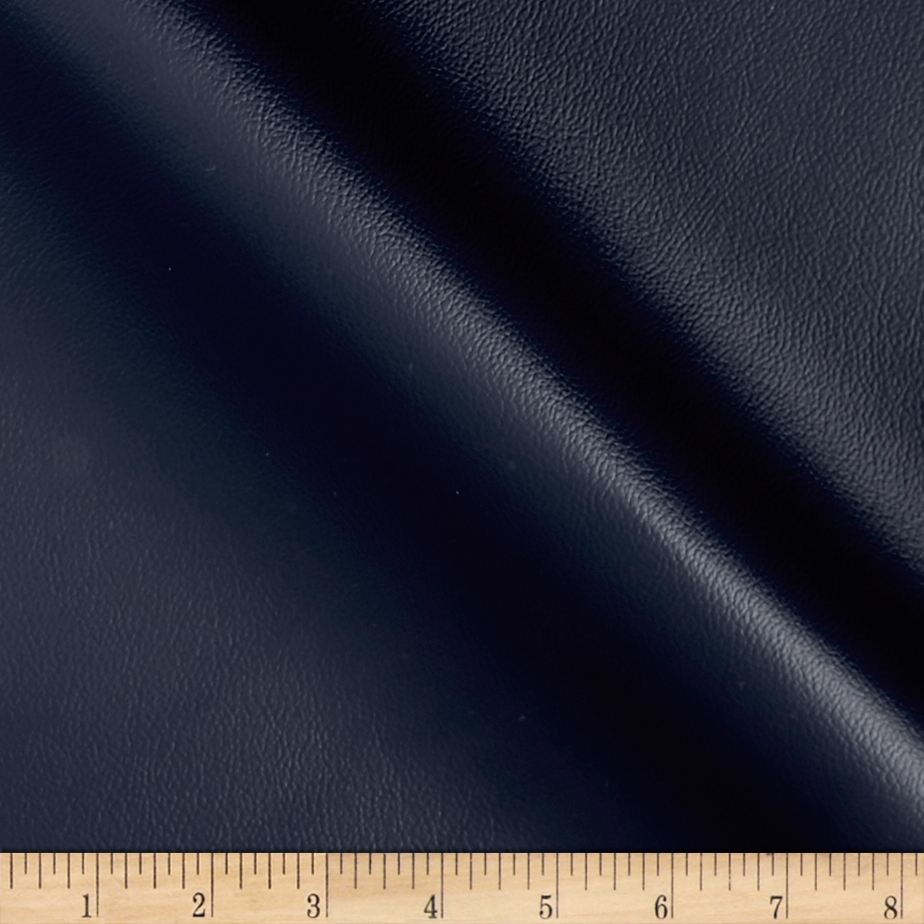 Richloom Fortress Marine Vinyl Lakeferry Navy Fabric By The Yard by Richloom in USA