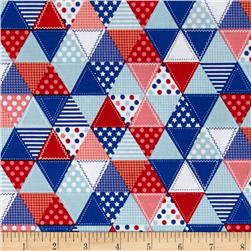 Riley Blake Summer Celebration Summer Quilt Red