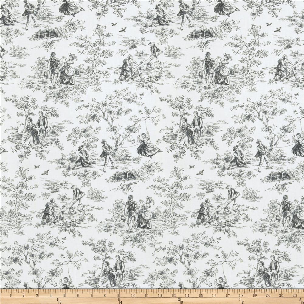 Fabricut Wasa Toile Licorice