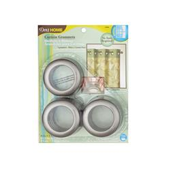 Curtain Grommets 8 Pack Pewter