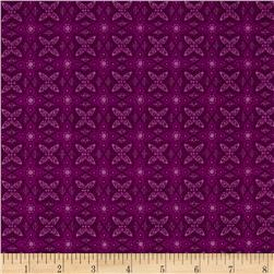 The Magic of Oz Small Medallion Purple