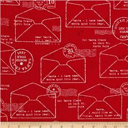 Dear Santa Envelope Red