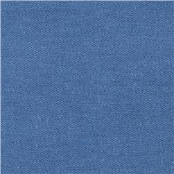 Oxford Shirting Solid French Blue Fabric