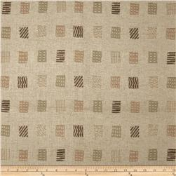 Robert Allen Promo Floating Boxes Woven Jacquard Platinum