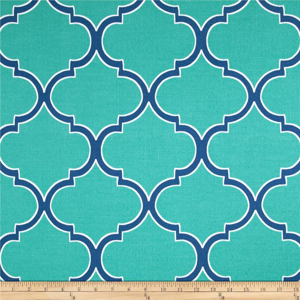 Richloom Solar Outdoor Irondale Turquoise