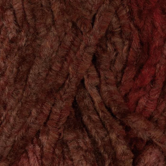 Lion Brand Chenille Yarn (203) Brick