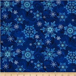 Something Blue Snowflake Blue