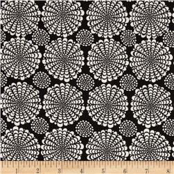 Valori Wells Ashton Road Flower Spray Charcoal Fabric