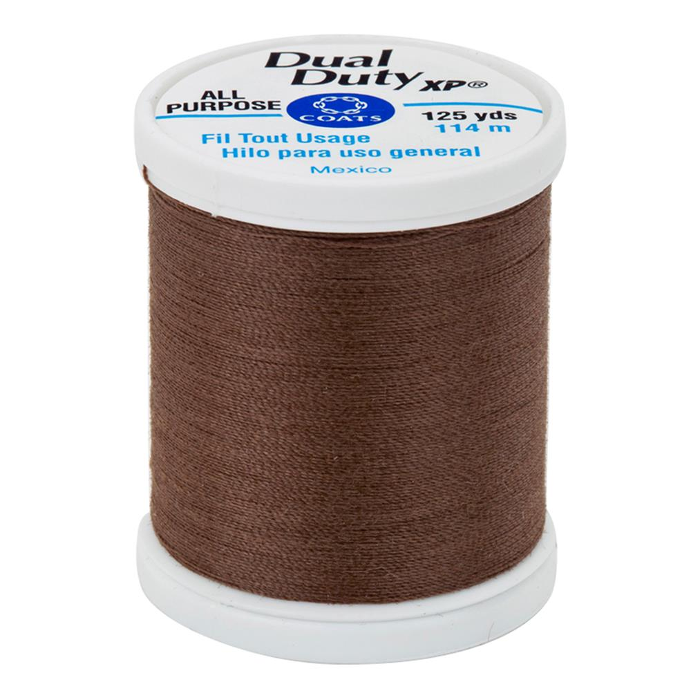 Coats & Clark Dual Duty XP 125yd Summer Brown