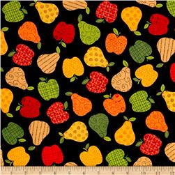 Kanvas Fall Festival Apples to Pears Black
