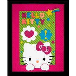 Sanrio Hello Kitty Neon Expressions OL Panel Pink/Black