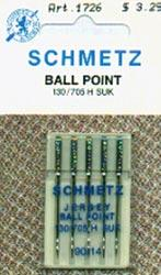 Schmetz Ball Point Machine Needles 14/90