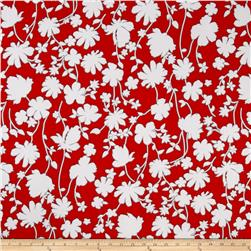 Summer Floral ITY Cherry/White