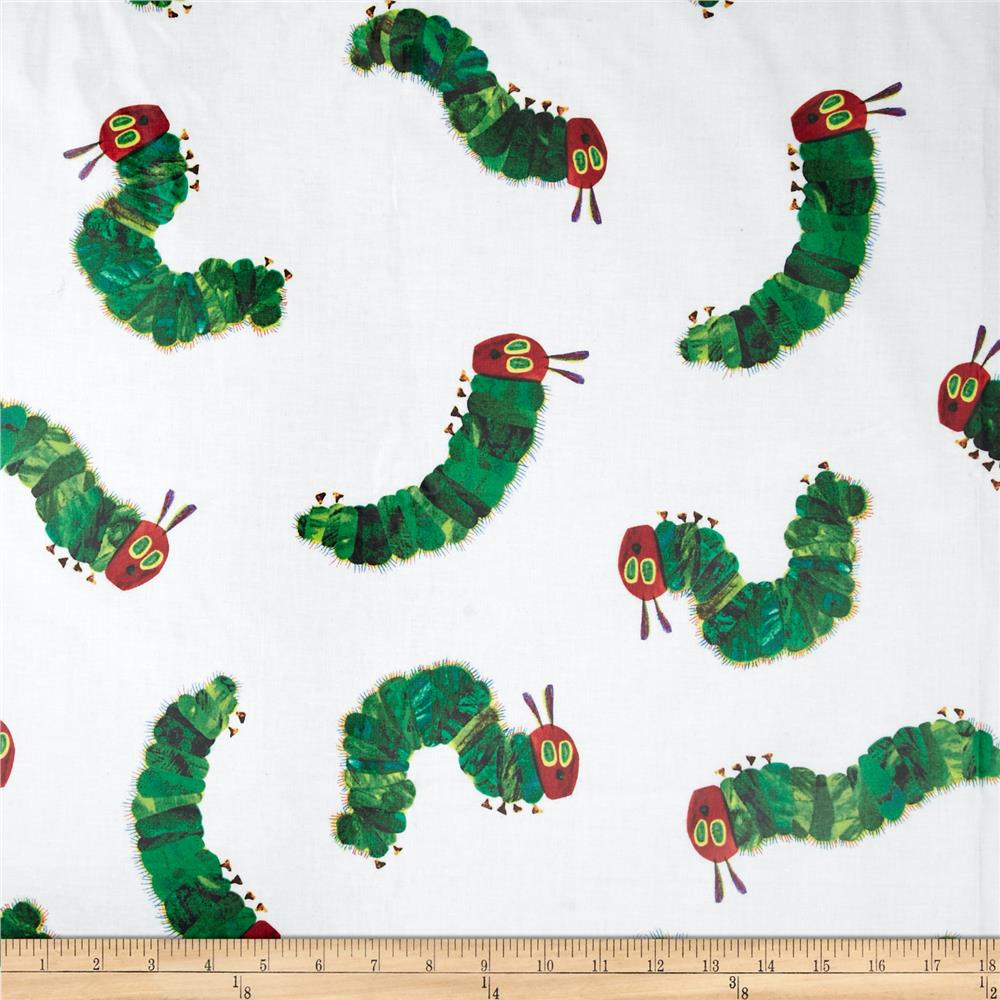 The Very Hungry Caterpillar Laminate Tossed Caterpillar White/Green